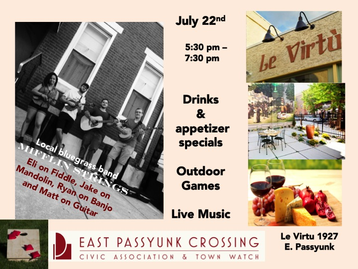 July Meet and Greet at Le Virtu