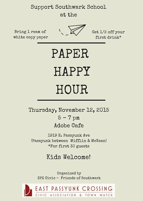 Paper Happy Hour